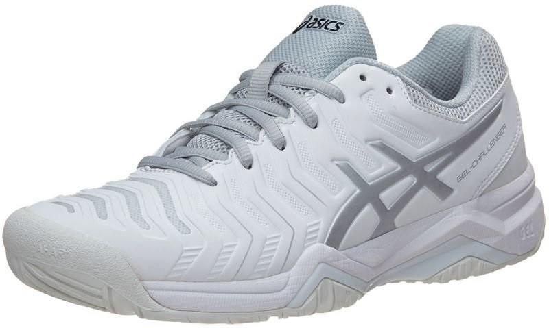 Теннисные кроссовки женские Asics Gel-Challenger 11 white/silver