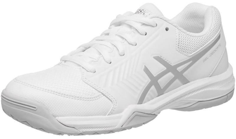 Теннисные кроссовки женские Asics Gel-Dedicate 5 white/silver