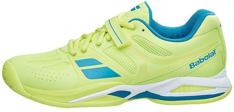 Теннисные кроссовки женские Babolat Propulse All Court yellow