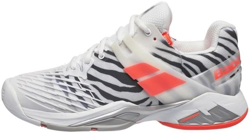 Теннисные кроссовки женские Babolat Propulse Fury All Court Woman zebra