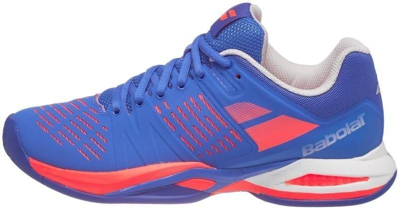 Тенісні кросівки жіночі Babolat Propulse Team All Court Woman blue/fluo pink