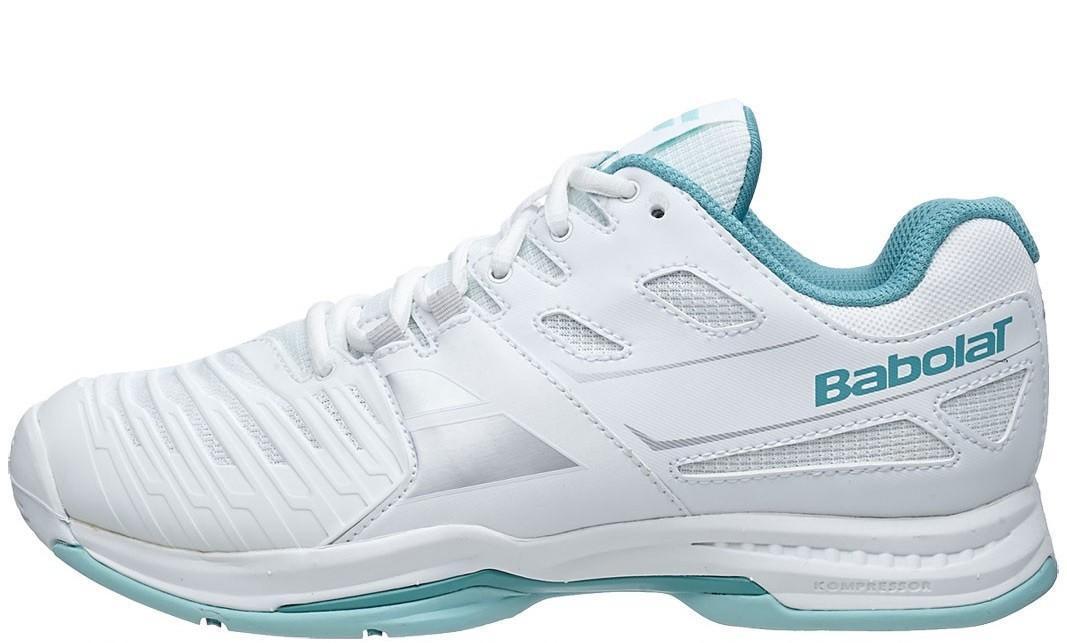 Теннисные кроссовки женские Babolat SFX2 All Court white/blue