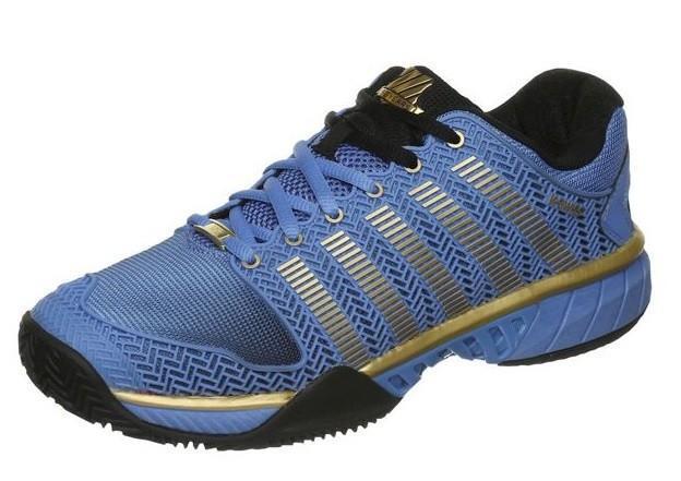 Теннисные кроссовки женские K-Swiss Hypercourt Express HB 50th ГРУНТ Blue/Black