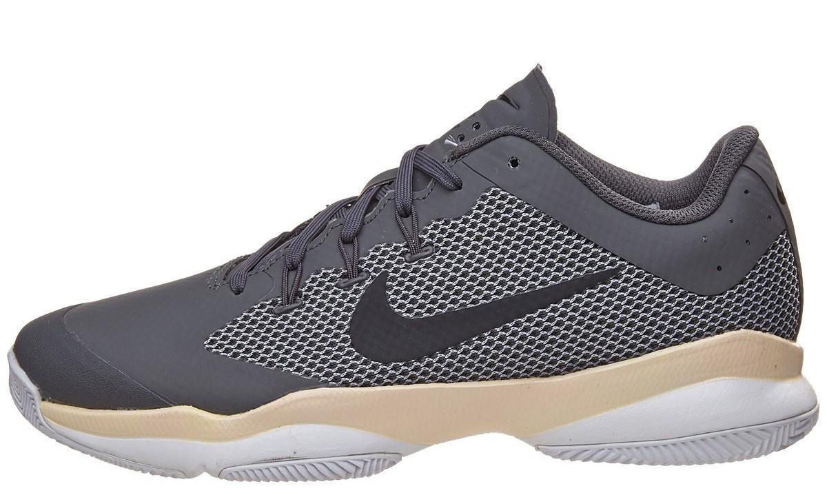 Теннисные кроссовки женские Nike Air Zoom Ultra dark grey/black/orange quartz