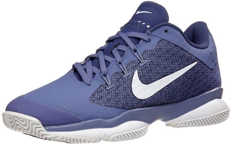 Теннисные кроссовки женские Nike Air Zoom Ultra purple slate/white/blue recall