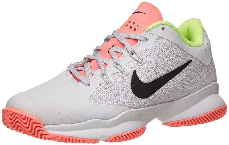 Теннисные кроссовки женские Nike Air Zoom Ultra vast grey/black/white