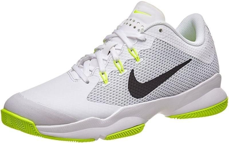 Теннисные кроссовки женские Nike Air Zoom Ultra white/black/volt/pure platinum