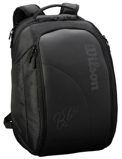 Теннисный рюкзак Wilson Federer DNA Backpack 2019 black/black