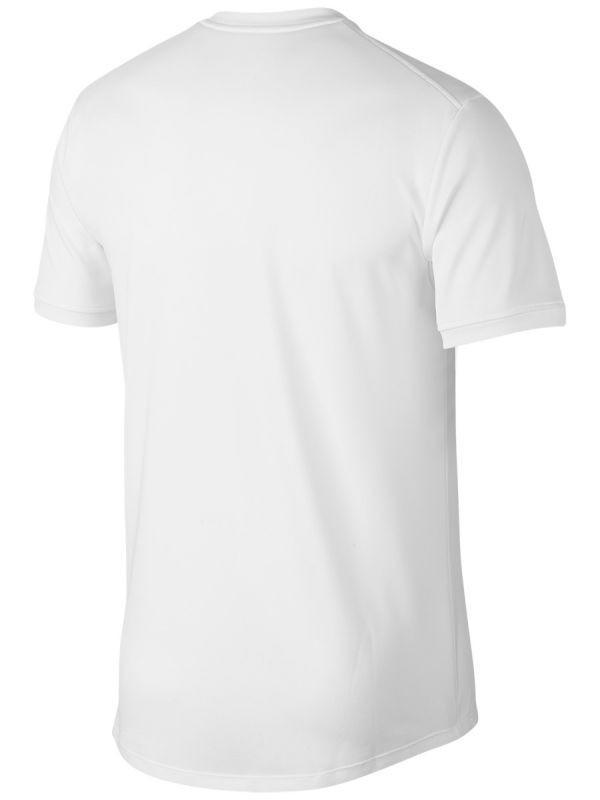 Теннисная футболка мужская Nike Court Top SS white