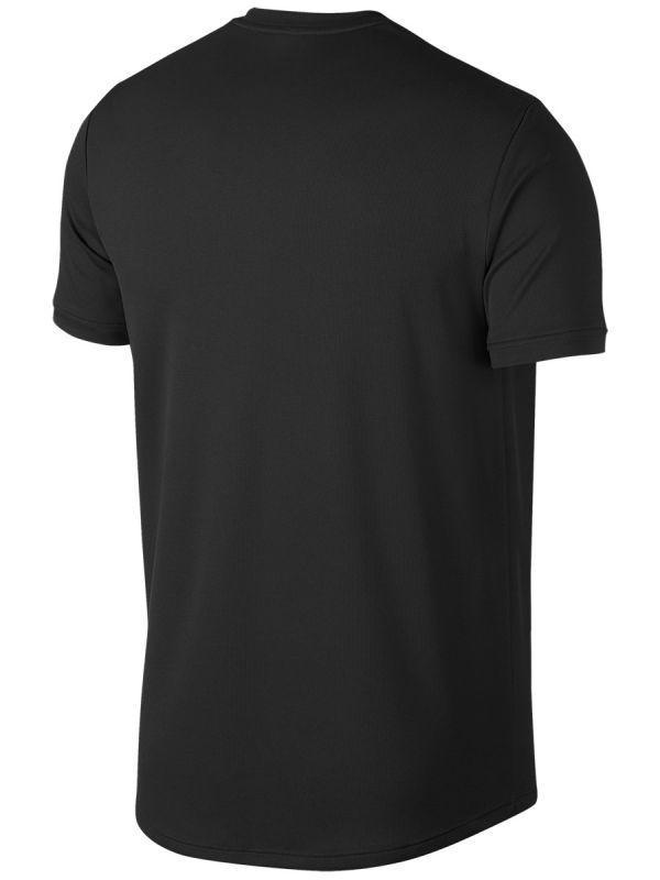 Теннисная футболка мужская Nike Court Top SS black