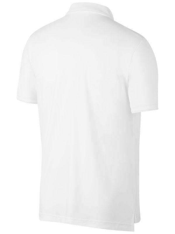Теннисная футболка мужская Nike Court Dry Team Polo white