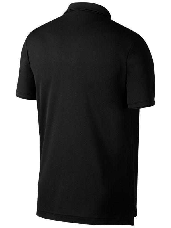 Теннисная футболка мужская Nike Court Dry Team Polo black/white