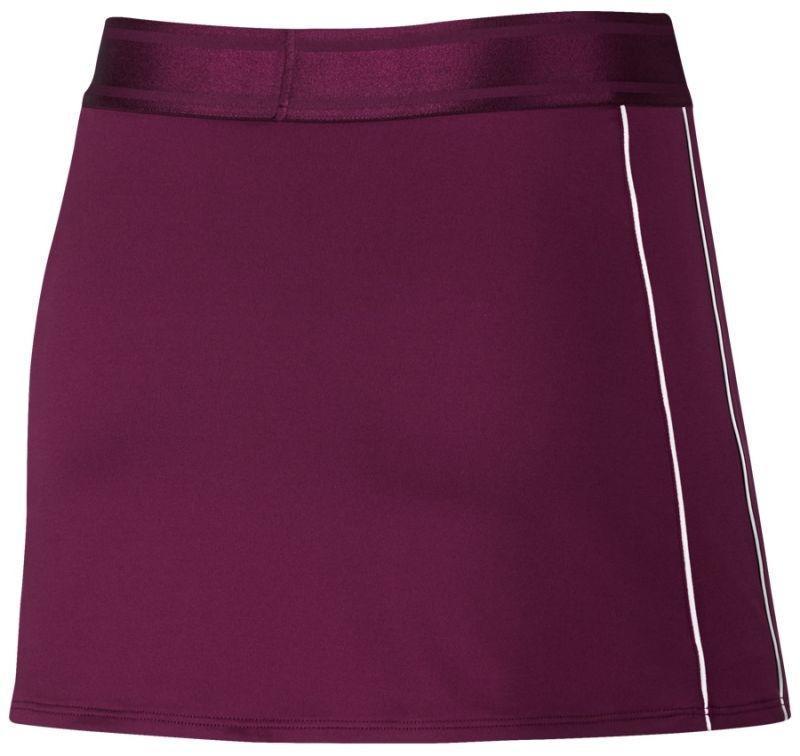 Теннисная юбка женская Nike Court Dry Skirt bordeaux/white