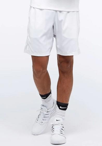 Теннисные шорты мужские Nike Court Dry 9in Short white/white