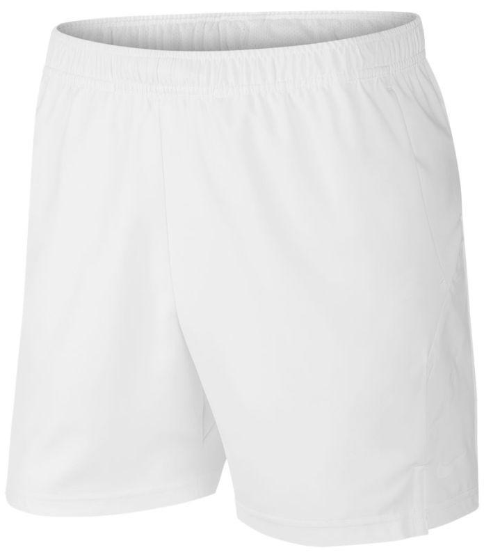 Теннисные шорты мужские Nike Court Dry 7in Short white