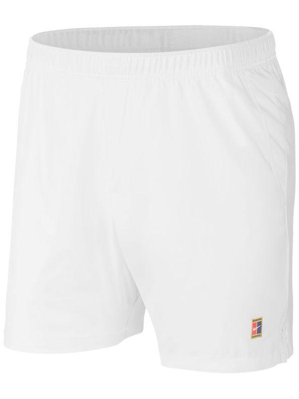 Теннисные шорты мужские Nike Court Dry 8in Short white