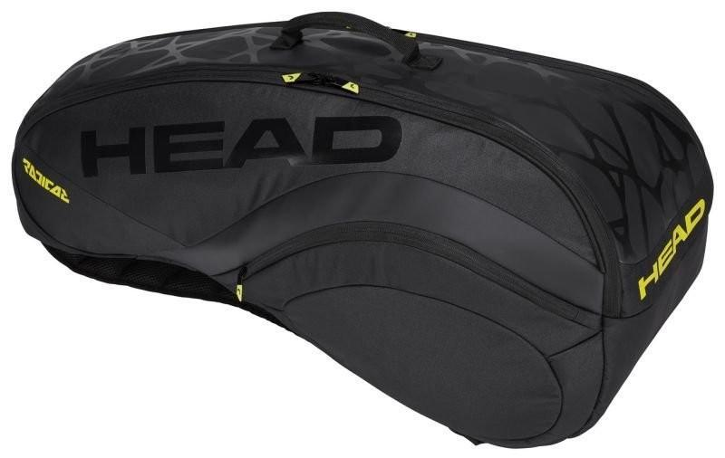 Теннисная сумка Head Radical 6R Ltd Edition black/yellow