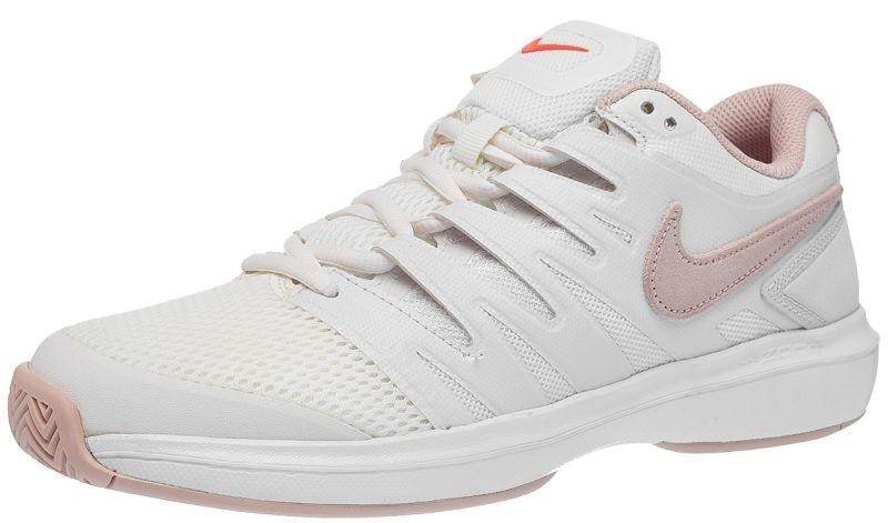 Теннисные кроссовки женские Nike WMNS Air Zoom Prestige phantom/particle beige/sail/orange blaze