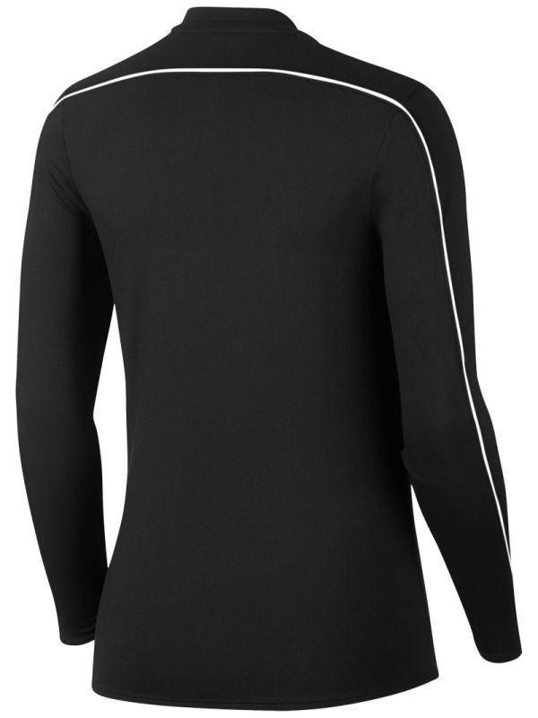 Теннисная футболка женская Nike Court Women Dry 1/2 Zip Top black/white