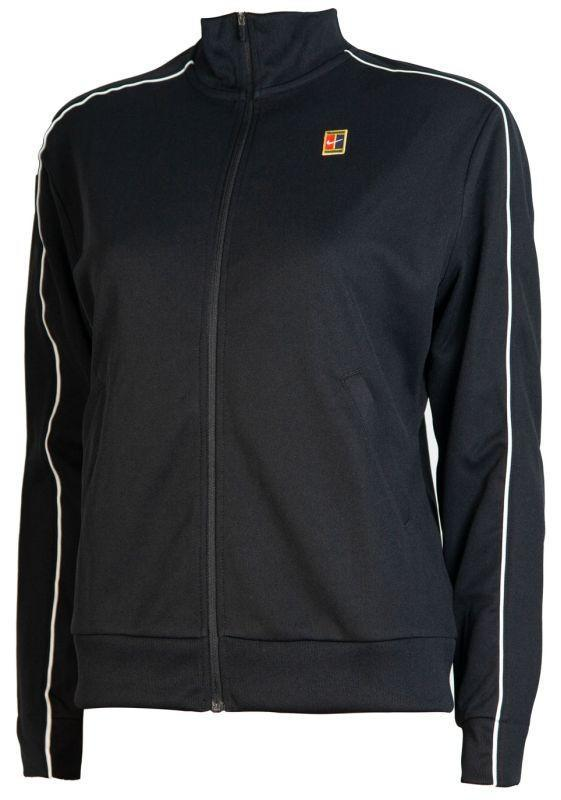 Кофта женская Nike Court Warm Up Jacket black/black/white