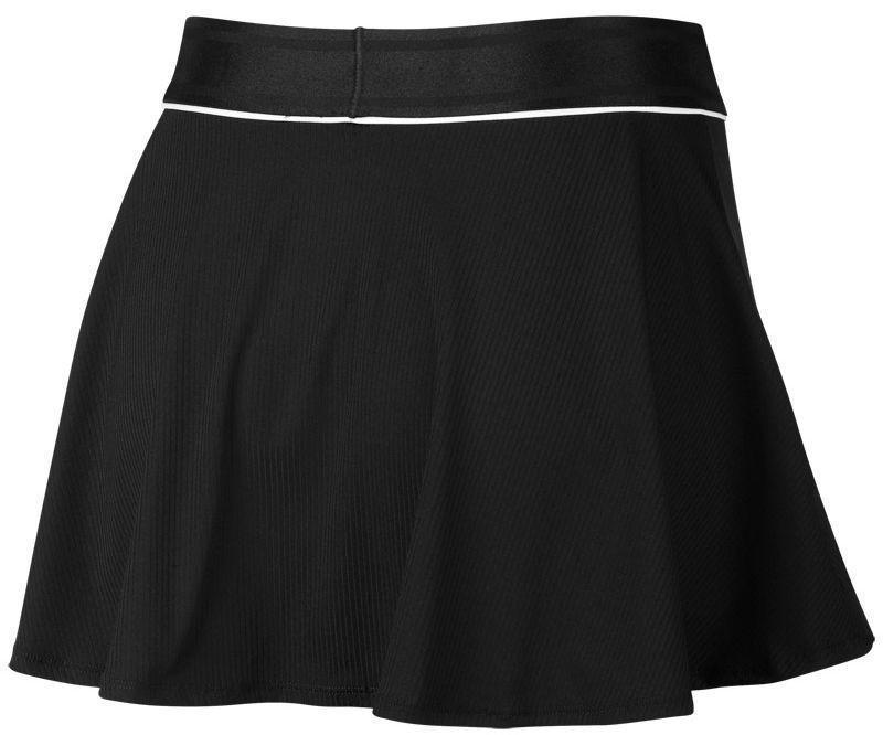 Теннисная юбка женская Nike Court Dry Flounce Skirt black/white