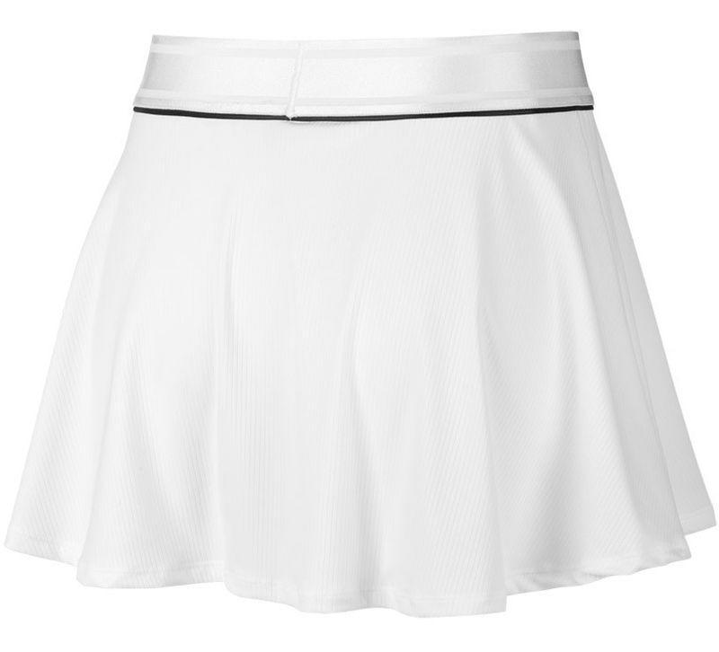 Теннисная юбка женская Nike Court Dry Flounce Skirt white/black