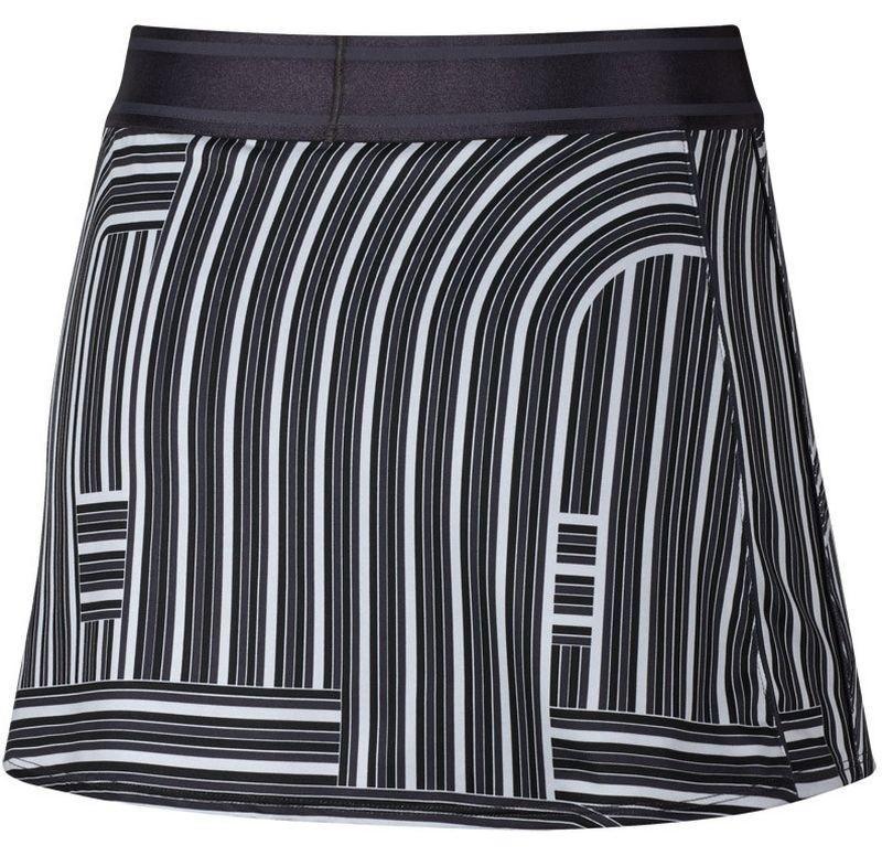 Теннисная юбка женская Nike Court Dry Skirt Printed gridiron/white