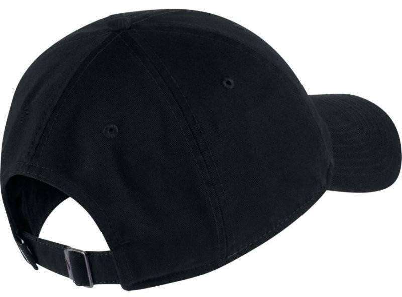Теннисная кепка Nike H86 Essential Swoosh Cap black/black