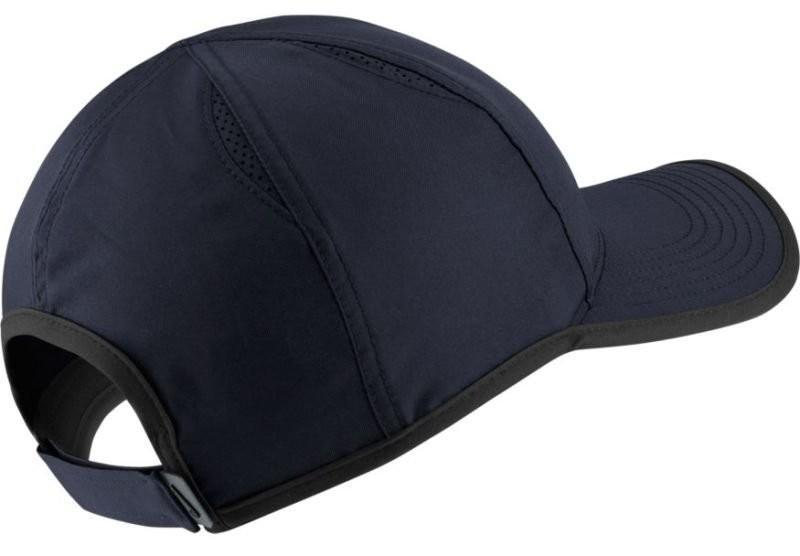 Теннисная кепка Nike U Aerobill Feather Light Cap obsidian/black/white
