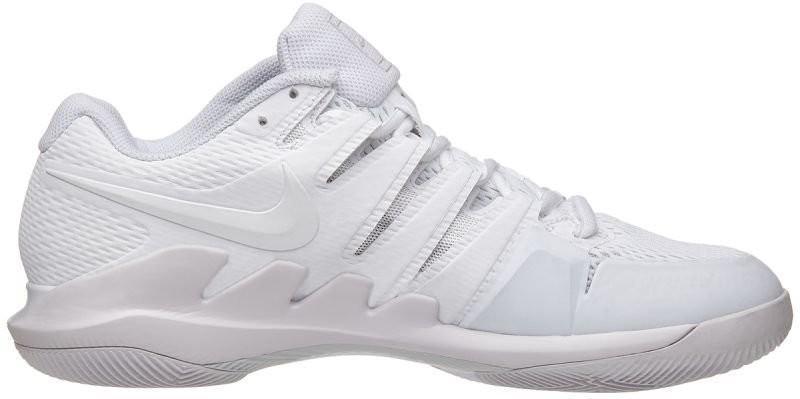 Теннисные кроссовки женские Nike WMNS Zoom Vapor 10 HC white/vast grey