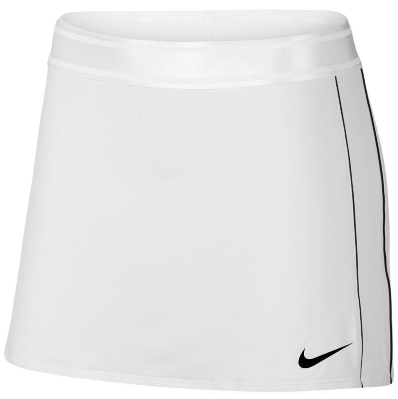 Теннисная юбка женская Nike Court Dry Skirt white/black