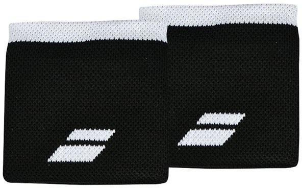 Напульсник Babolat Logo Wristband black/white