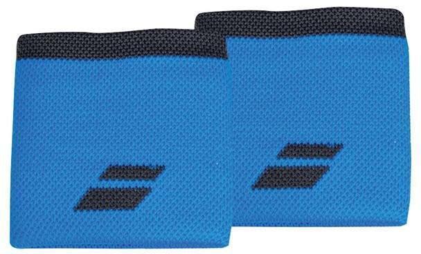 Напульсник Babolat Logo Wristband diva blue/rabbit