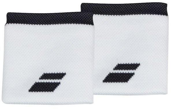 Напульсник Babolat Logo Wristband white/rabbit