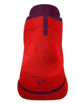 Носки теннисные Nike Court Essential No Show 1 пара habanero red/bordeaux