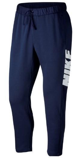 Штаны мужские Nike French Terry Pant blue/white