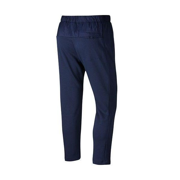Штаны мужские Nike French Terry Pant blue/white
