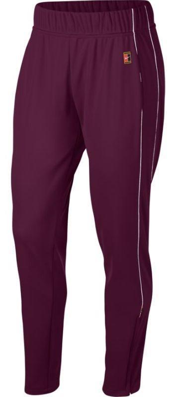 648e00f7c019 Спортивные штаны женские Nike Court Warm Up Pant bordeaux white ...