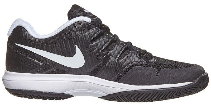 Теннисные кроссовки мужские Nike Air Zoom Prestige HC black/white