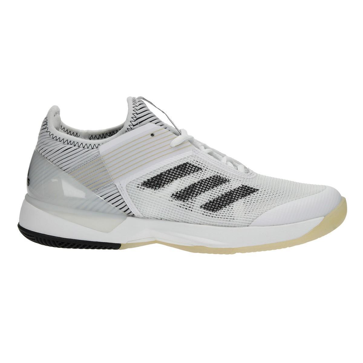 Теннисные кроссовки женские Adidas Adizero Ubersonic 3 W white/black