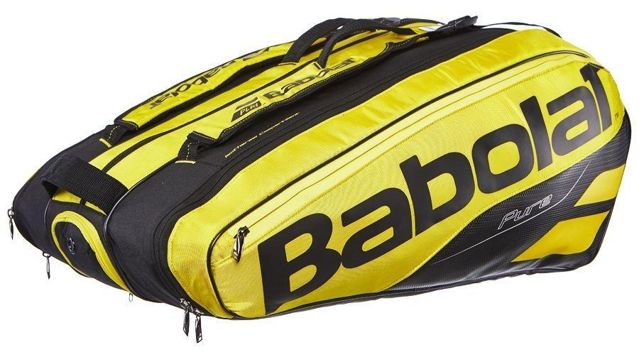 Теннисная сумка Babolat Pure Aero x12 2019 yelllow/black
