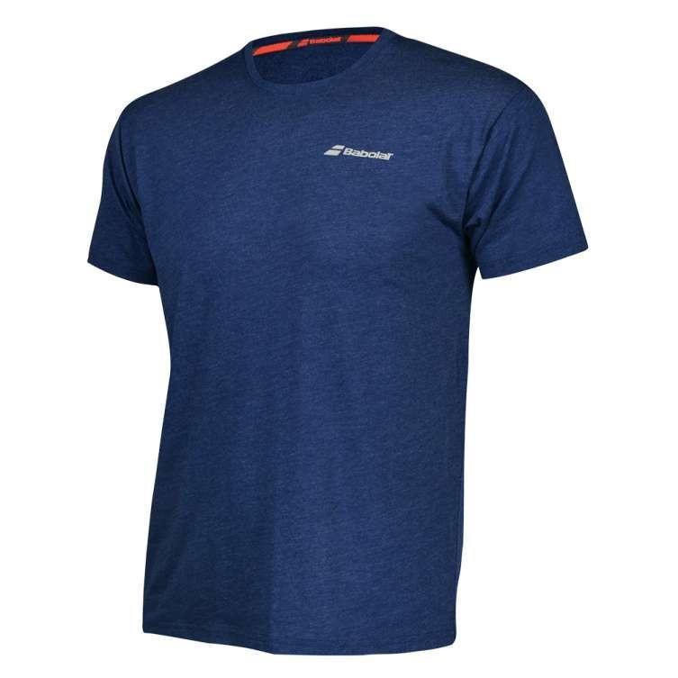 Теннисная футболка детская Babolat T-Shirt Core Boy estate blue heather