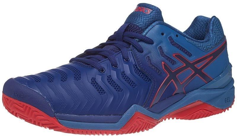 Теннисные кроссовки мужские Asics Gel-Resolution 7 ГРУНТ blue print/blue print