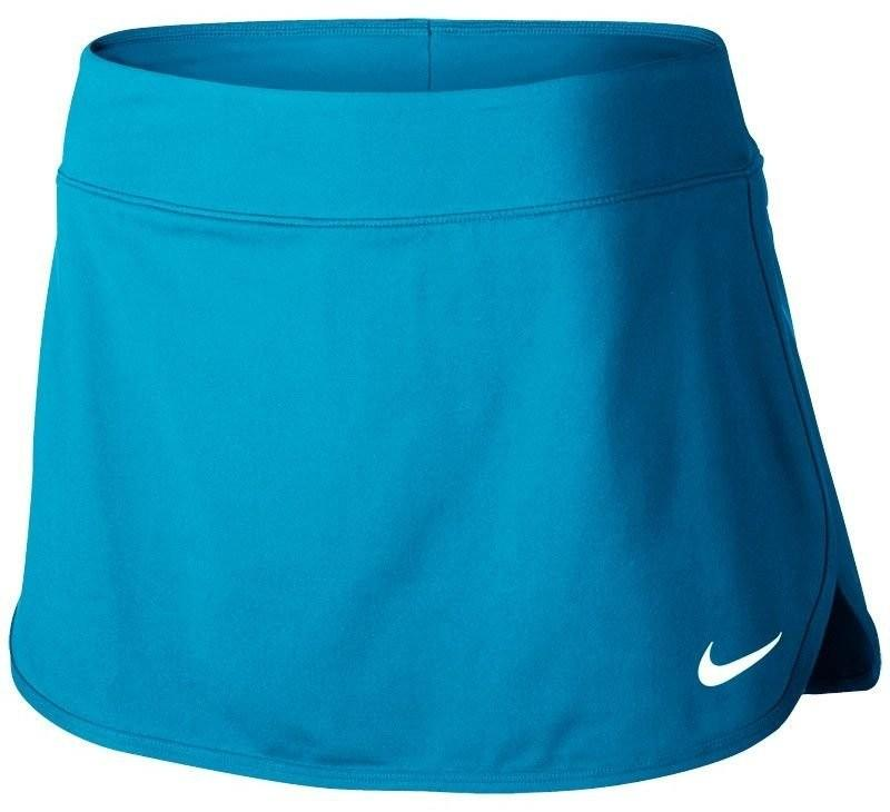 Теннисная юбка женская Nike Court Pure Skirt neo turquoise/white