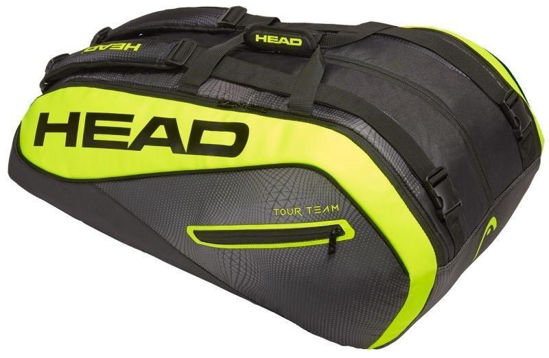 Теннисная сумка Head Tour Team Extreme 12R Monstercombi black/yelllow