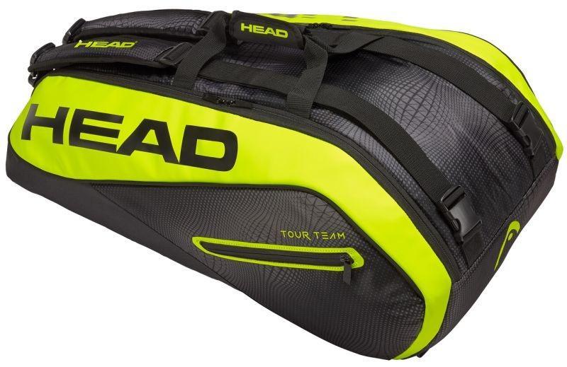 Теннисная сумка Head Tour Team Extreme 9R Supercombi black/yelllow