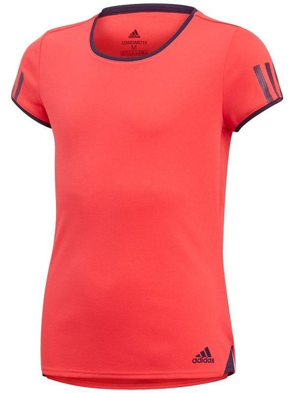 Теннисная футболка детская Adidas G Club Tee shock red