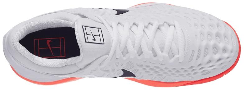716dde6e355f2f ... Тенісні кросівки чоловічі Nike Air Zoom Cage 3 HC Limited Edition  white/lava/black