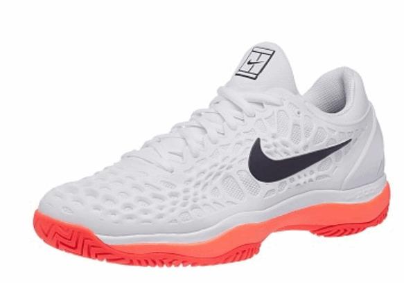 af25aec2 Детские теннисные кроссовки Nike Air Zoom Cage 3 HC white/lava/black ...