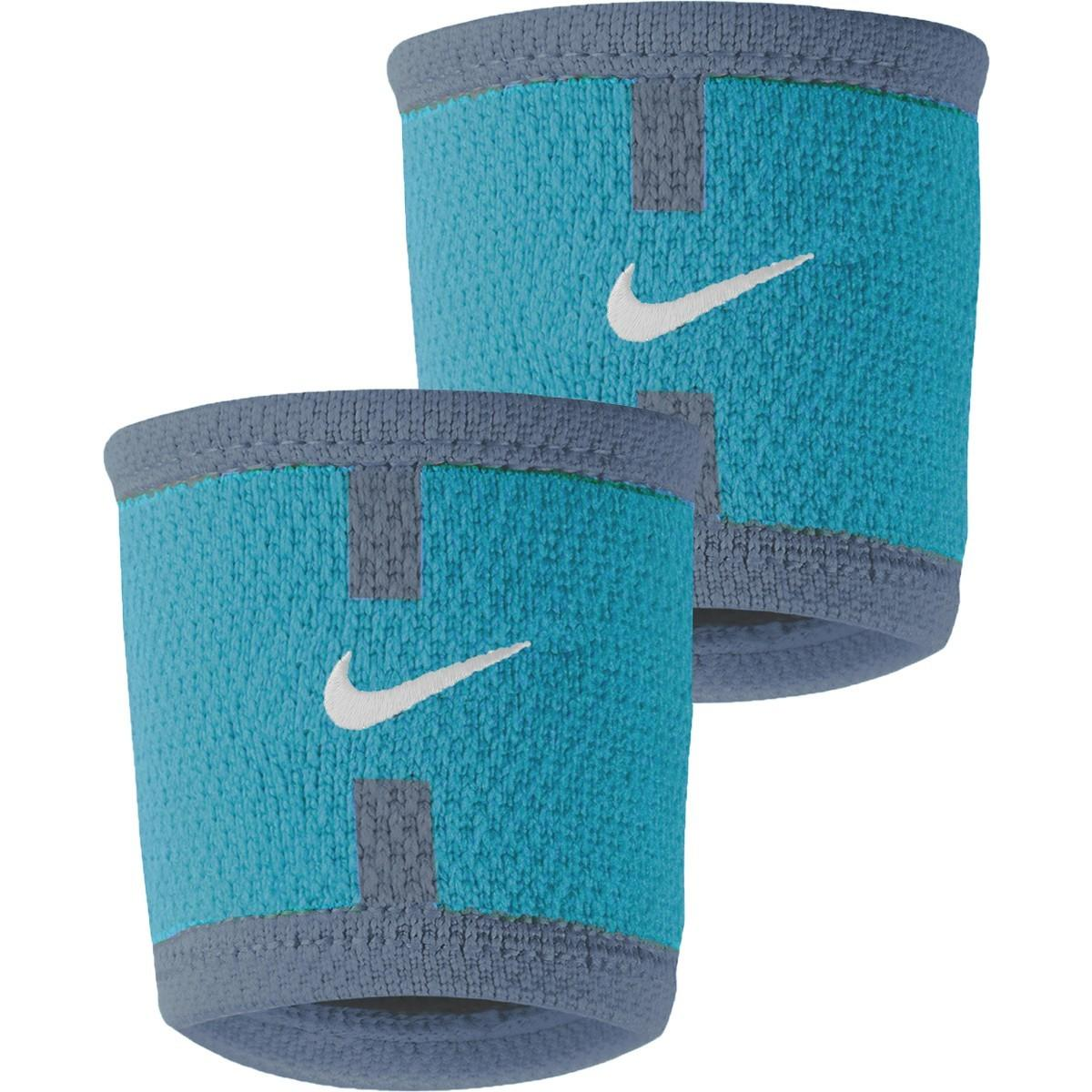 Напульсник Nike Court Victoria Azarenka Paris Wristbands blue/turquoise